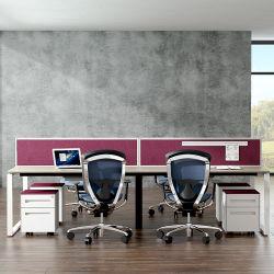 Moderner Büro-Möbel-Spanplatten-Tischrechner 4 Seater Büro-Schreibtisch