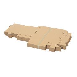 길거나 키 큰 접힌 주문 마분지 판지 포장 상자