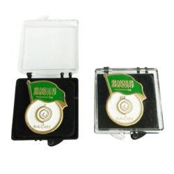 Boîte en acrylique transparent pour l'émail Badge
