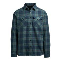 Heren′ S 100% Organic Cotton Customized Outdoor Wear Robinson Long Sleeve Shirt.