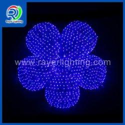 Festival decorazione illuminazione esterna motivo LED luci girasole colore blu