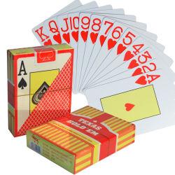 Scheda di gioco di plastica d'apprendimento innovatrice su ordinazione della mazza dei giochi di scheda del punto promozionale di alta qualità