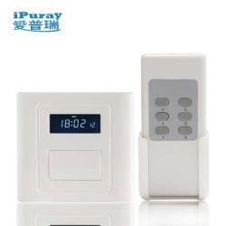 1 Módulo de pantalla LCD Electrónica de Control Remoto el interruptor de luz con retraso off
