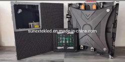 Bâtiment mural IP65 de maintenance frontale extérieure de l'usine de Chine Mur vidéo commercial P3.91 P4.81 500 mm*500 mm module LED panneau d'affichage Affichage LED