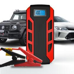 Aanzet van de Sprong van de Auto van de Batterij USB van de Levering van de fabriek de Dubbele Draagbare Multifunctionele 12V met scherm-Vertoning en het LEIDENE van de Verlichting Werk Met lange levensuur onder het Extreme Hiaat van de Temperatuur