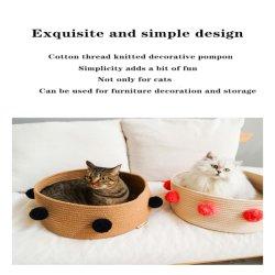 Zeze Woven Cat litter Four Seasons Universal Net Red Cat Cat Bed Cat House Villa Small Dog Kennel PET 공급품 Amaw-0024