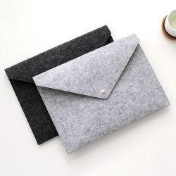 O logotipo personalizado A4 pastas de arquivo sentida sacos de arquivo Caso de negócios para a pasta de documentos de produtos de arquivamento Chancery Material Escolar Organizador de mesa digitalizadora