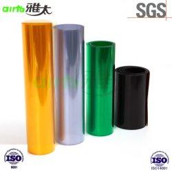 Pellicola rigida trasparente in PVC trasparente di varie colorazioni per uso farmaceutico