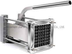 Manuel de la machine de découpe de légumes de frites en acier inoxydable facile à l'aide de la faucheuse de pommes de terre industrielles