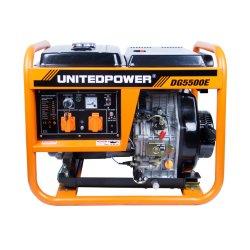 Dg5500e elektrischer 4000W 5000W beweglicher Dieselgenerator