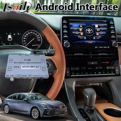 Video casella dell'interfaccia di GPS di multimedia Android di percorso per il modello pionieristico della radio 2018-2020 ospite di Toyota Avalon Panasonic Fujitsu
