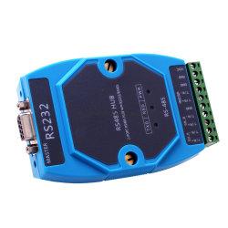Nouveau design RS232/RS485 à 4 port RS485 isolé actif moyeu du convertisseur