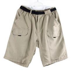 Il cartone di fibra del poliestere degli uomini mette i pantaloni in cortocircuito casuali della spiaggia di estate dei pantaloni della cinghia [nuovi]