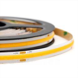 Magic COB 24VDC 12V tira Flexível de LED 10mm de largura com Power 10W para iluminação de decoração suave