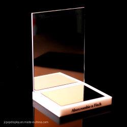 Acrílico de alta calidad profesional de la pantalla de espejo de maquillaje