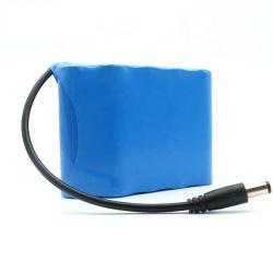 Lithium-Ionennachladbare Batterie-Satz 12V 6000mAh 3s3p 11.1V mit PCM für Solarstraßenlaterne, medizinische Geräte