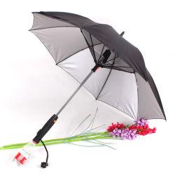 Ventilador de pulverización paraguas con ventilador y el atomizador PARAGUAS paraguas del ventilador de refrigeración para protegerse del sol caliente paraguas Estilo creativo