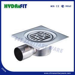 Acero inoxidable 201 de drenaje de piso de la salida de agua lateral (FD2114)