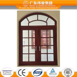 Китай производство алюминия тепловой вырваться наружу дверная рама перемещена рамы окна