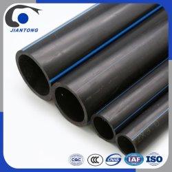 Tubo di plastica del rifornimento idrico di pressione dell'HDPE nero di qualità PE100 /80