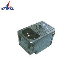 Entrée d'alimentation AC Socke électronique de puissance connecteur prise Euro et le commutateur