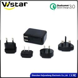 Novos produtos originais de fábrica Tamanho Mini QC 3.0 carregador USB Viagens Gadget Fast Charge