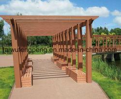 Pergola di plastica di legno esterno personalizzato del composto WPC