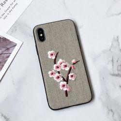 2019 Hot-Sale broderie 3D unique Téléphone Mobile Soft Shell TPU Téléphone cellulaire de luxe Housse pour iPhone