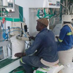 Automatischer Mais-Weizen-Mais-Mehl-Mahlzeit-Sand, der Tausendstel-Maschinen-Schleifer-Prägemaschinerie-Preis reibt