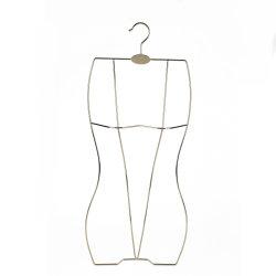 Gold silver adulte de gros fil métallique adaptées à corps plein cintre de maillots de bain
