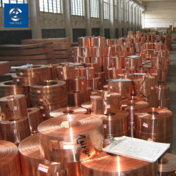 Hervorragende elektrische Leitfähigkeit Kupferstreifen C10200 Cu Preis Pro Tonne Kupferstreifen