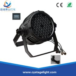 RGB 3in1 54 * 3W 방수 LED PAR CAN Stage Show Light