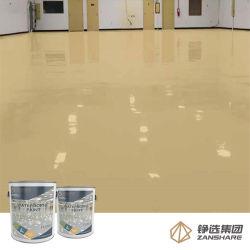 Pintura de suelo epoxi epoxi Contrete Water-Based Colord Pintura de suelo basado en el almacén de imprimación de pintura de piso