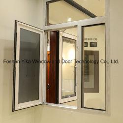 2019 Dernier produit de double vitrage à isolation de la fenêtre en aluminium avec des blinds à l'intérieur