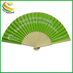 Pliage de la main de bambou de bonne qualité pour la fête de mariage de ventilateur
