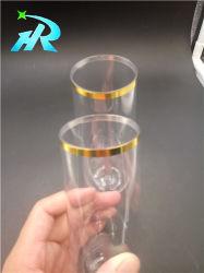 Flöte-Gläser des Gold220ml stempelnschampagne in der Masse