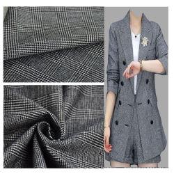 Cina filati tessili tinti poliestere Rayon 4 vie stretch per Abbigliamento/Abbigliamento