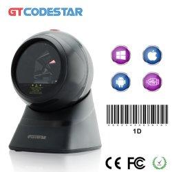 L'efficacité Desktop 2D d'image scanner de code à barres pour caisse enregistreuse