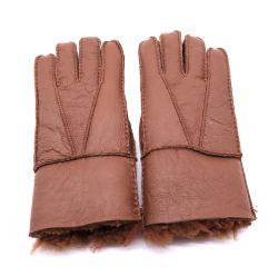 Vendas quente Mens Fashion Vestido preto luvas de couro manter quente Forro de Caxemira para mensagens de Inverno de condução