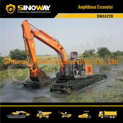 Hitachi Marsh Buggy Excavator für Bagging Amphibious Soft Terrain Backhoe