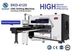 Automatische bohrende Seiten Holzbearbeitung CNC-sechs u. Bohrmaschine für Panel-Typen Möbel-Produktion
