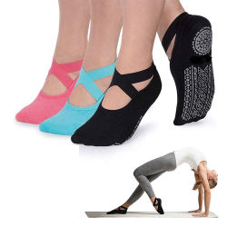 Yugland Amozan Hot Cheap coton antiglisse Socks Chaussettes de Yoga de la Dentelle chaussettes