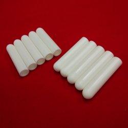 Uno de los extremos de Zirconia Blanco Cloesd ZRO2 Aislante de tubos de cerámica