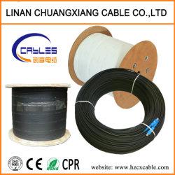 Chute de câble plat FTTH Fibre optique Câble de communication Connecteurs Sc-Sc