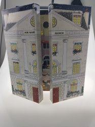 L'Art sur mesure papier cadeau cosmétique de toner de parfum Paper Box Boîte Pliante Calendrier de l'Avent