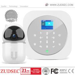 De draadloze Alarminstallatie van de Veiligheid van het Huis van de Indringer WiFi/GSM van de anti-Dief Slimme met Camera