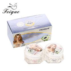 La neige Feique Lotus jour et nuit Ensemble de soins de la peau Crème hydratante Blanchissant