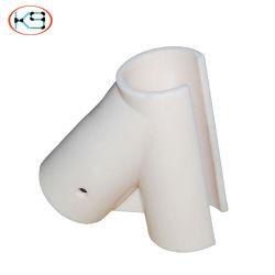 Conector de plástico, misto de plástico, Tubo de Fluxo Joint, fluxo e sistema de prateleiras, tubo revestido a plástico