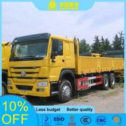Sinotuk HOWO 6X4 371HP furgone piano camion Cargo camion Con parete laterale