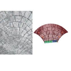 구체적인 형 장식적인 구체적인 시멘트 우표 매트 인장 형은 Concre 중국 공급자 고무 도장 각인된 구체적인 형 정원 경로 지면 매트를 각인했다